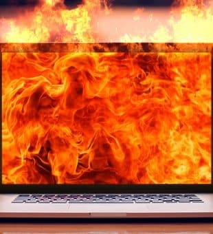 روش هایی برای جلوگیری از گرم شدن لپ تاپ