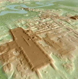 کشف قدیمی ترین بنا از تمدن مایا در مکزیک به لطف فناوری لیدار